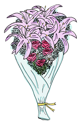 Flower Bouquet Stickers messages sticker-0