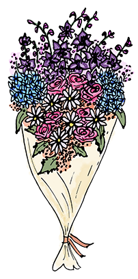 Flower Bouquet Stickers messages sticker-4