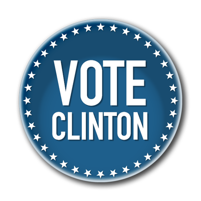 Campaign Election Buttons Vote 2016 messages sticker-5