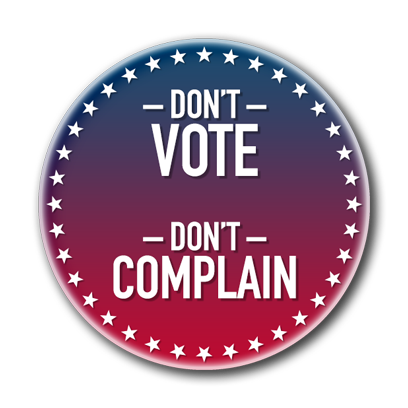 Campaign Election Buttons Vote 2016 messages sticker-11