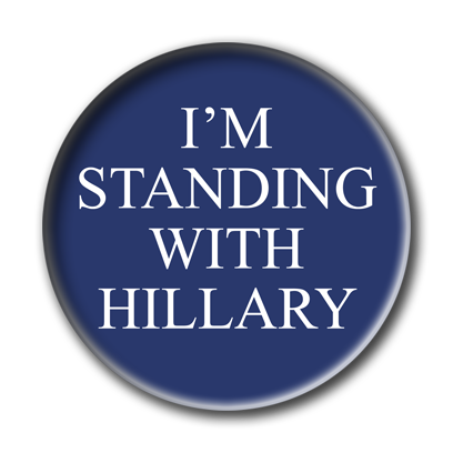 Campaign Election Buttons 2016 messages sticker-9