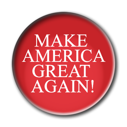 Campaign Election Buttons 2016 messages sticker-8