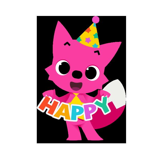 Hello Pinkfong! messages sticker-8