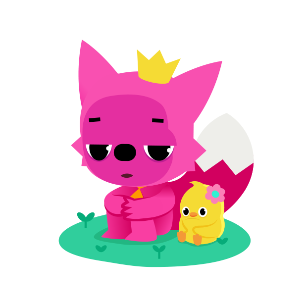 Hello Pinkfong! messages sticker-1