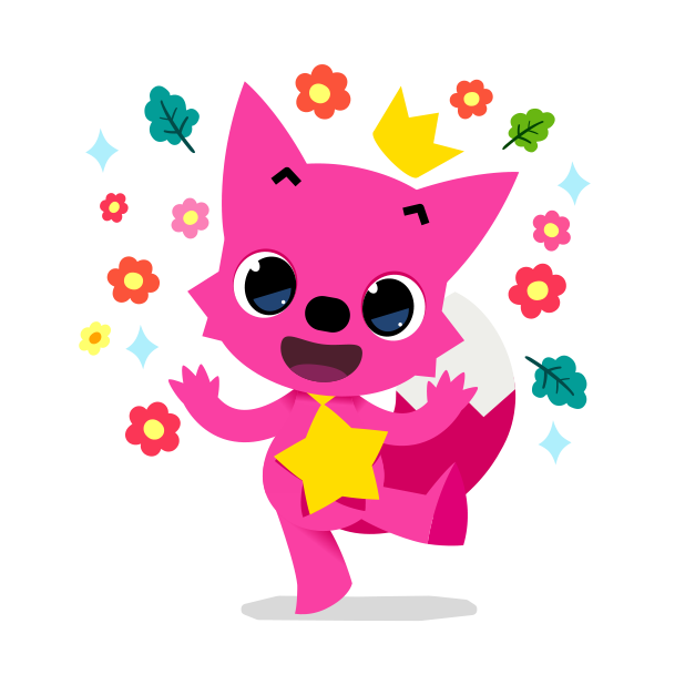 Hello Pinkfong! messages sticker-0