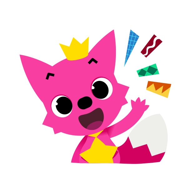 Hello Pinkfong! messages sticker-2