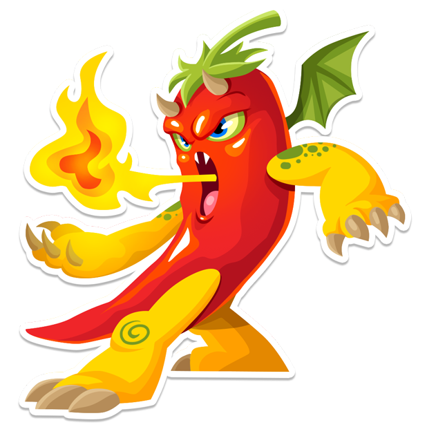 Dragon City Stickers messages sticker-11
