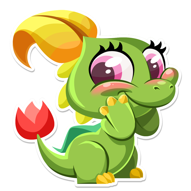 Dragon City Stickers messages sticker-3