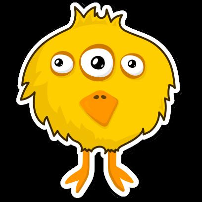 Little Monsters Sticker Pack messages sticker-8