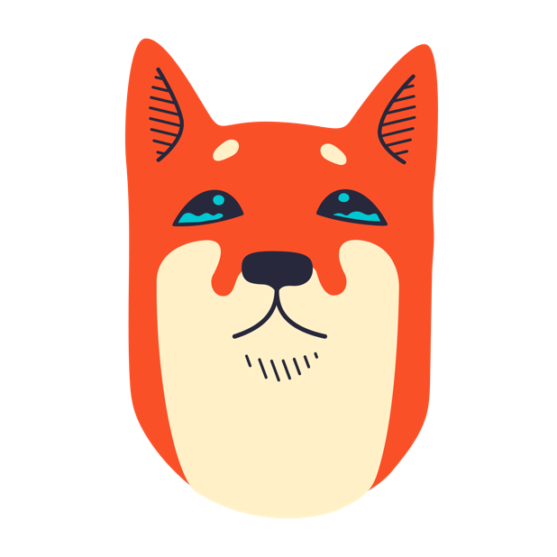 Shibe Stickers by Abi Heyneke messages sticker-5