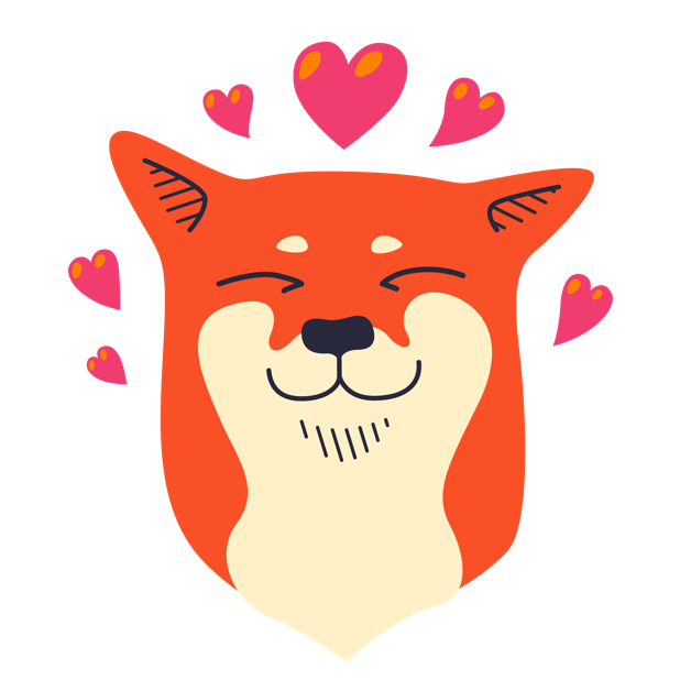 Shibe Stickers by Abi Heyneke messages sticker-2