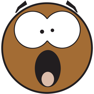 Ochat: Brown Smiley & Emoji Stickers for iMessage messages sticker-6
