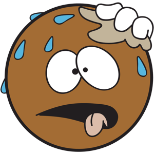Ochat: Brown Smiley & Emoji Stickers for iMessage messages sticker-10