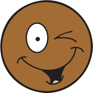 Ochat: Brown Smiley & Emoji Stickers for iMessage messages sticker-7