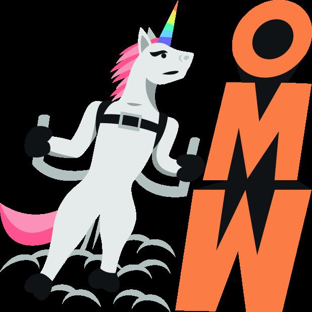 Unicorn Life: Emoji inspired stickers by EmojiOne™ messages sticker-4