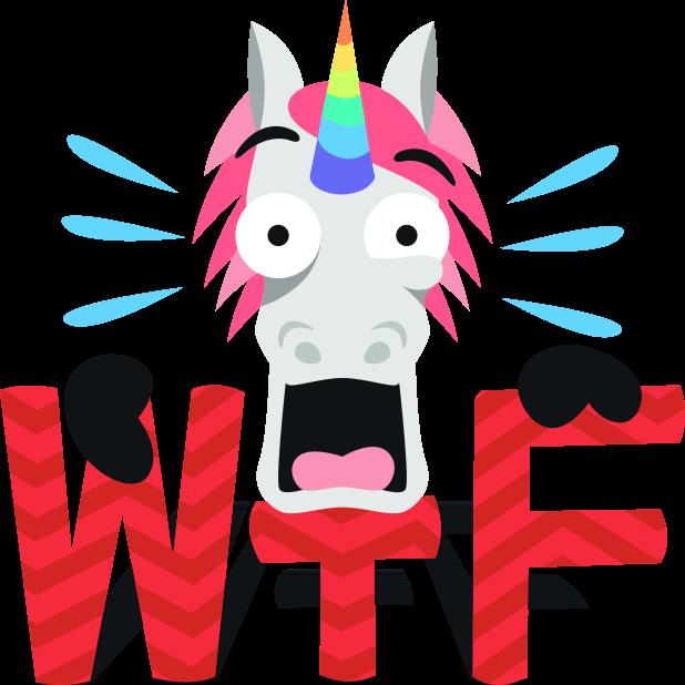 Unicorn Life: Emoji inspired stickers by EmojiOne™ messages sticker-1