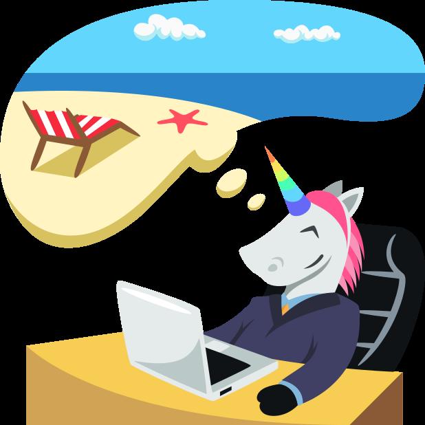 Unicorn Life: Emoji inspired stickers by EmojiOne™ messages sticker-7