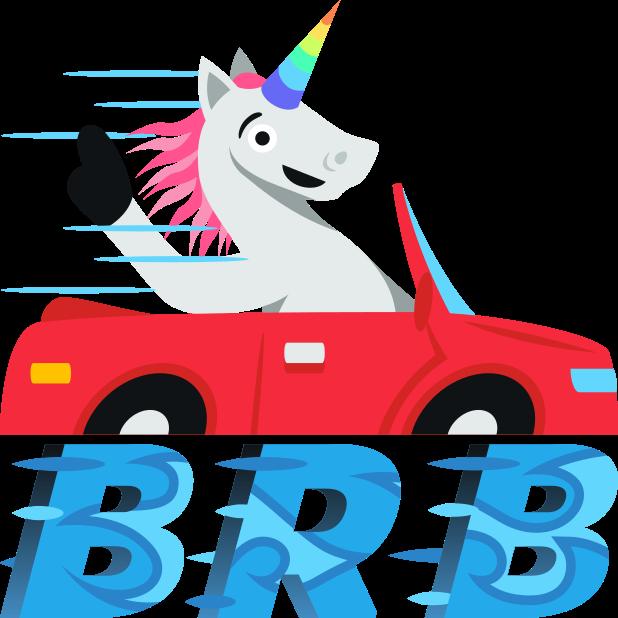 Unicorn Life: Emoji inspired stickers by EmojiOne™ messages sticker-8