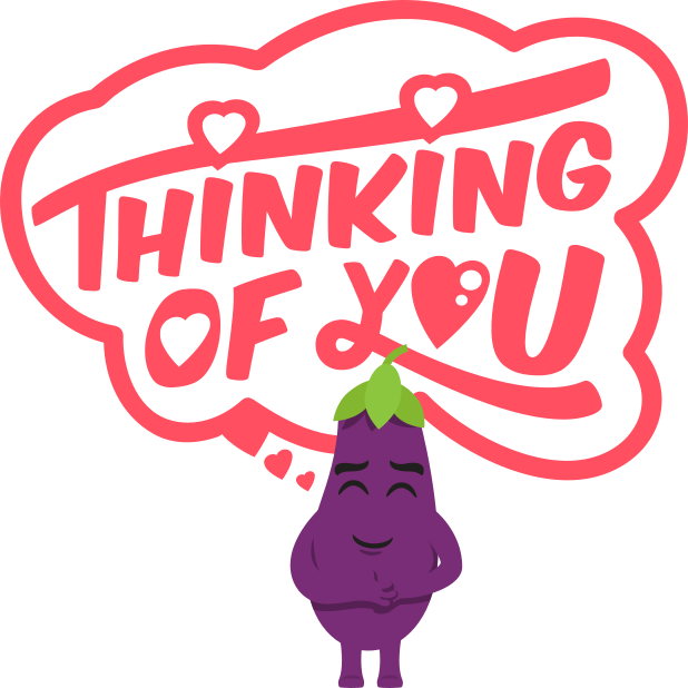 Eggplant Life: Emoji inspired stickers by EmojiOne messages sticker-11