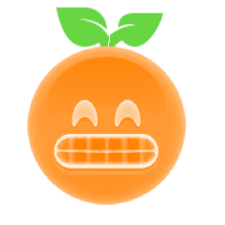 Orange Ya Glad? messages sticker-6