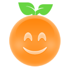 Orange Ya Glad? messages sticker-0