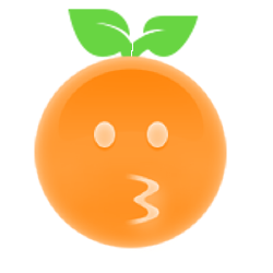 Orange Ya Glad? messages sticker-9