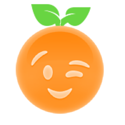 Orange Ya Glad? messages sticker-5