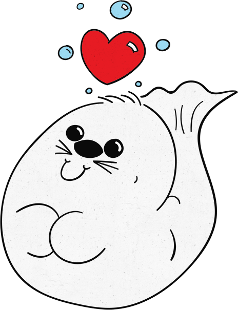 Hoover the Seal messages sticker-0