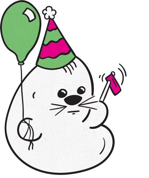 Hoover the Seal messages sticker-9