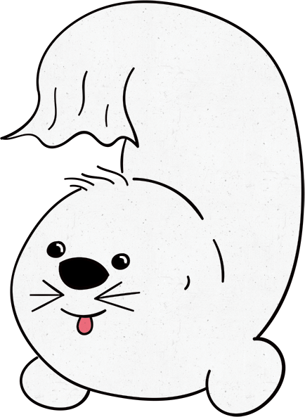 Hoover the Seal messages sticker-10
