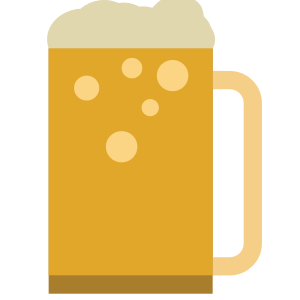 Beer and Wine Sticker Pack for iMessage messages sticker-5