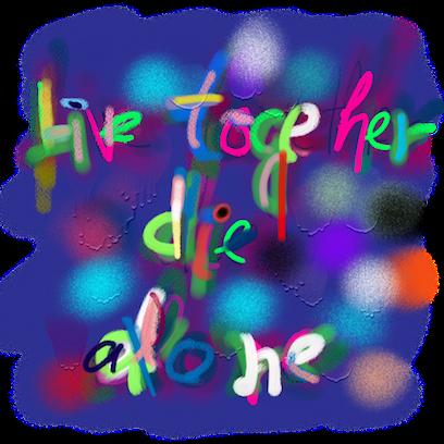 WB Graffiti messages sticker-8