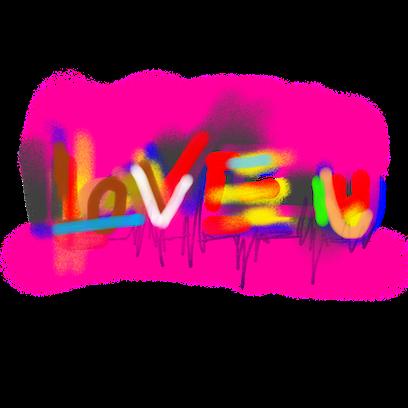 WB Graffiti messages sticker-1