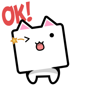 CubeCat Sticker Pack messages sticker-9