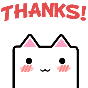 CubeCat Sticker Pack messages sticker-11