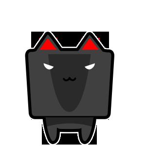 CubeCat Sticker Pack messages sticker-1