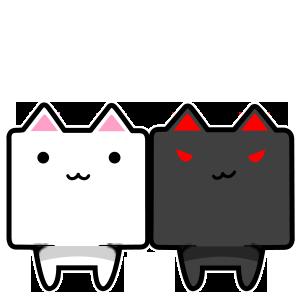 CubeCat Sticker Pack messages sticker-6
