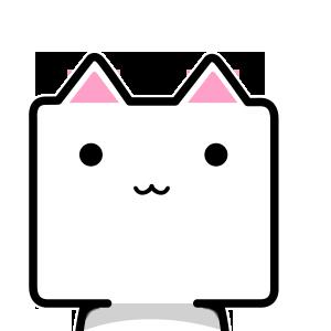CubeCat Sticker Pack messages sticker-10