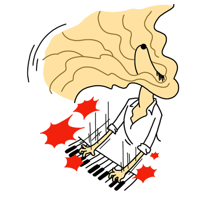 Singer-songwriter Andrea messages sticker-2