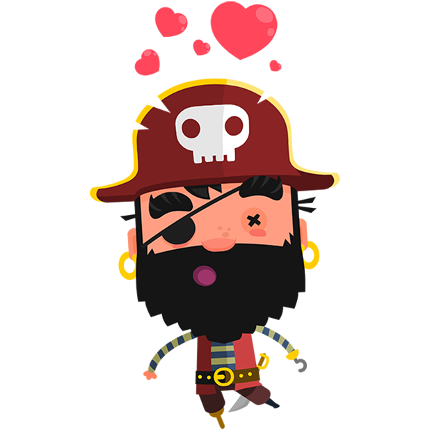 Pirate Kings Stickers for Apple iMessage messages sticker-0