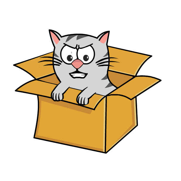 Tiger in the Box messages sticker-0