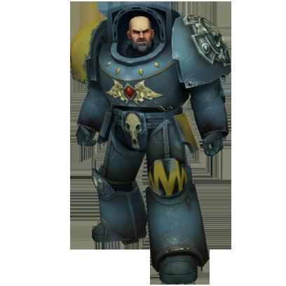 Warhammer 40,000: Space Wolf - Sticker Pack messages sticker-9