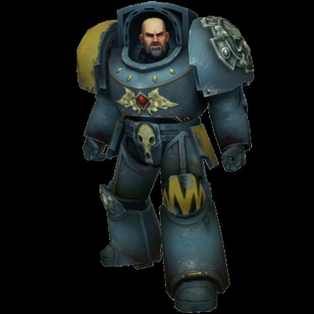 Warhammer 40,000: Space Wolf - Sticker Pack messages sticker-3