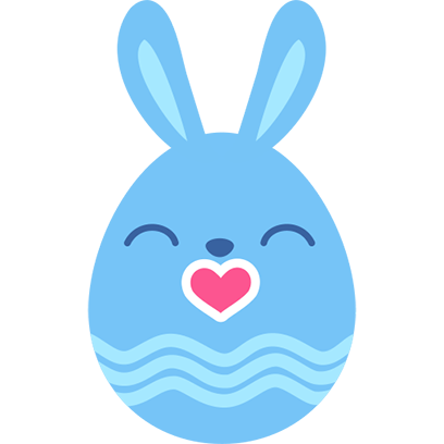 Rabbit Sticker messages sticker-2