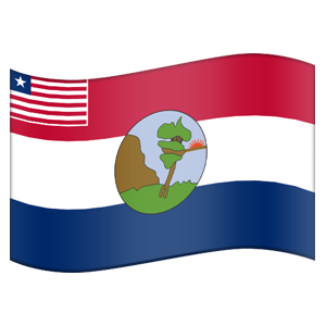 Liberian County Flag Stickers messages sticker-11