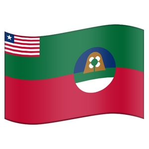 Liberian County Flag Stickers messages sticker-8