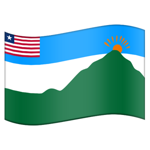 Liberian County Flag Stickers messages sticker-5