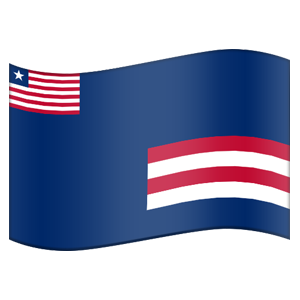 Liberian County Flag Stickers messages sticker-3