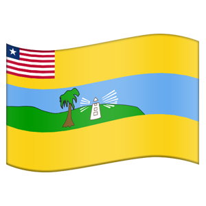 Liberian County Flag Stickers messages sticker-9