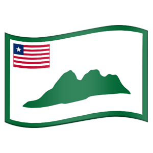 Liberian County Flag Stickers messages sticker-4